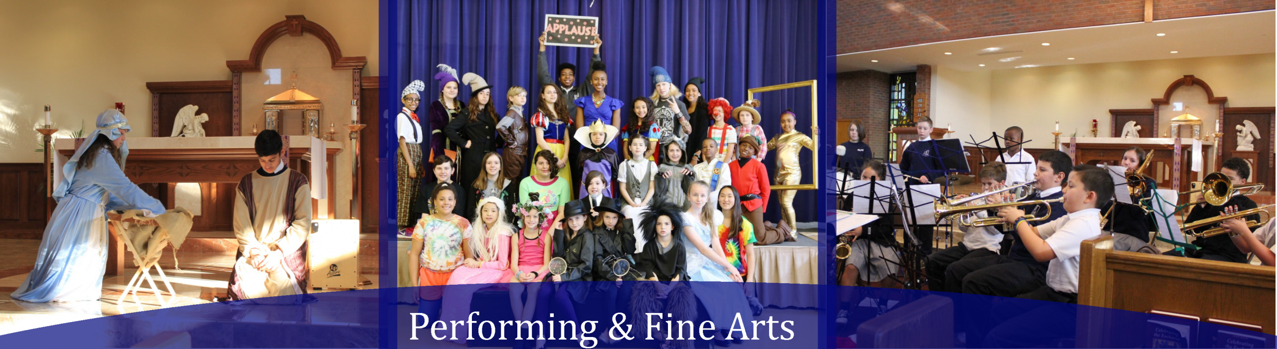 performing and fine arts at Catholic private school in Howard County, Pre-kindergarten education