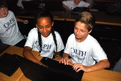 OLPH School Awarded $36,000 by Knott Foundation – 1:1 device program to be launched