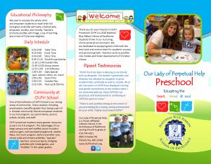PreK Brochure