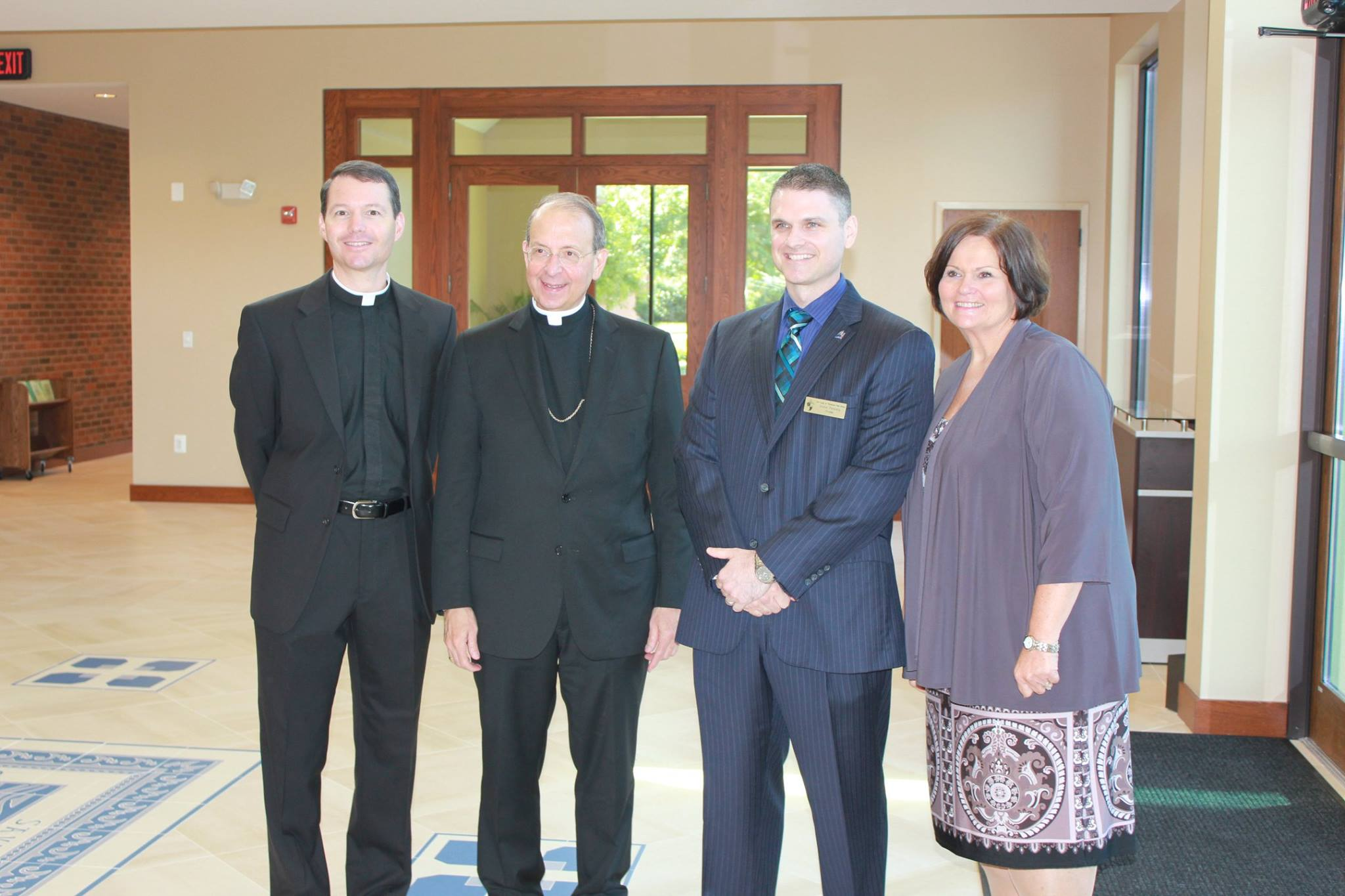 OLPH School Welcomed Archbishop Lori and Superintendent of Schools, Dr. Barbara Edmondson