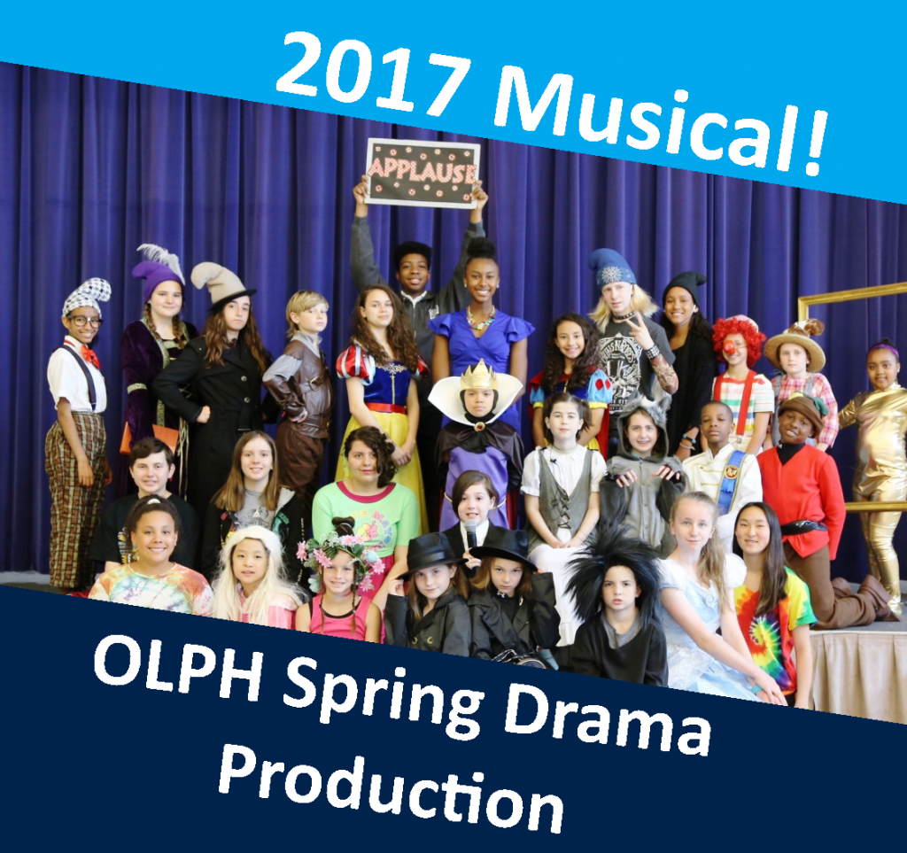 OLPH students in action - drama