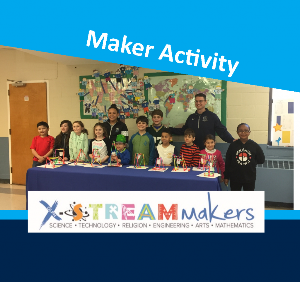 OLPH students in action - makerspace
