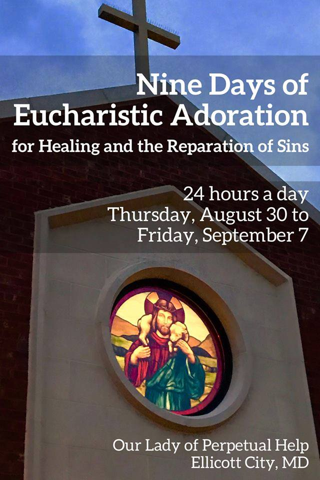 Nine Days of Eucharistic Adoration