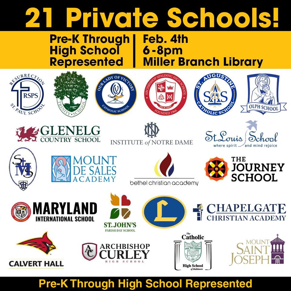OLPH will be at the Howard County Private School Fair!