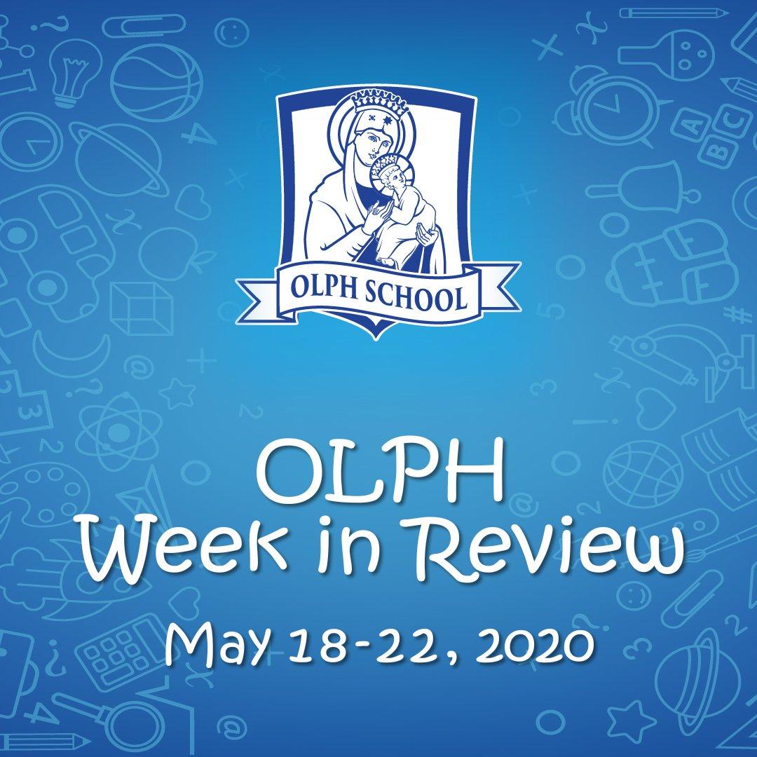 Week in Review, May 18-22