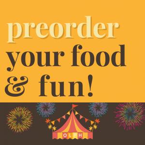 OLPH School Fall Festival 2021 - preorder food